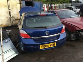 VAUXHALL ASTRA SRI CDTI 100 2004- FOR PARTS ONLY
