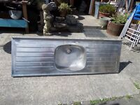 Large Double Drainer Stainless Steel Kitchen Sink