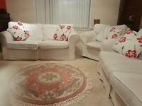 2 seater sofa and matching arm chair