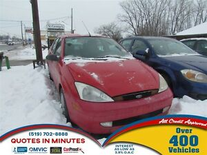 2003 Ford Focus SE Sport   FRESH TRADE   AS IS   WINTER BEATER