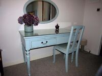 Dressing Table with matching mirror and chair