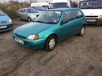 Toyota starlet in vgcondition lovely driving car ultra reliable Toyota ideal cheap run around