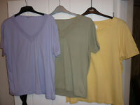 Ladies - size 18 -20 bundle of 3 tops (anne de lancey & damart)