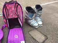 Ladies ski boots size 5