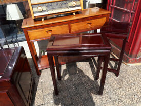ORIENTAL CHINESE HARDWOOD SIDE TABLE IN YEOVIL ASSORTED ORIENTAL CHINESE FURITURE FOR SALE IN YEOVIL