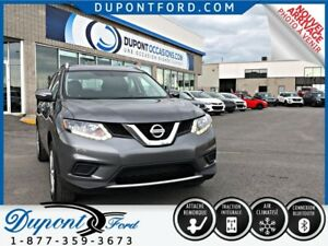 2014 NISSAN ROGUE AWD S - AWD - BLUETOOTH - CD - ATTACHE REMORQU