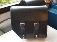Leather Motorcycle Saddle Bags