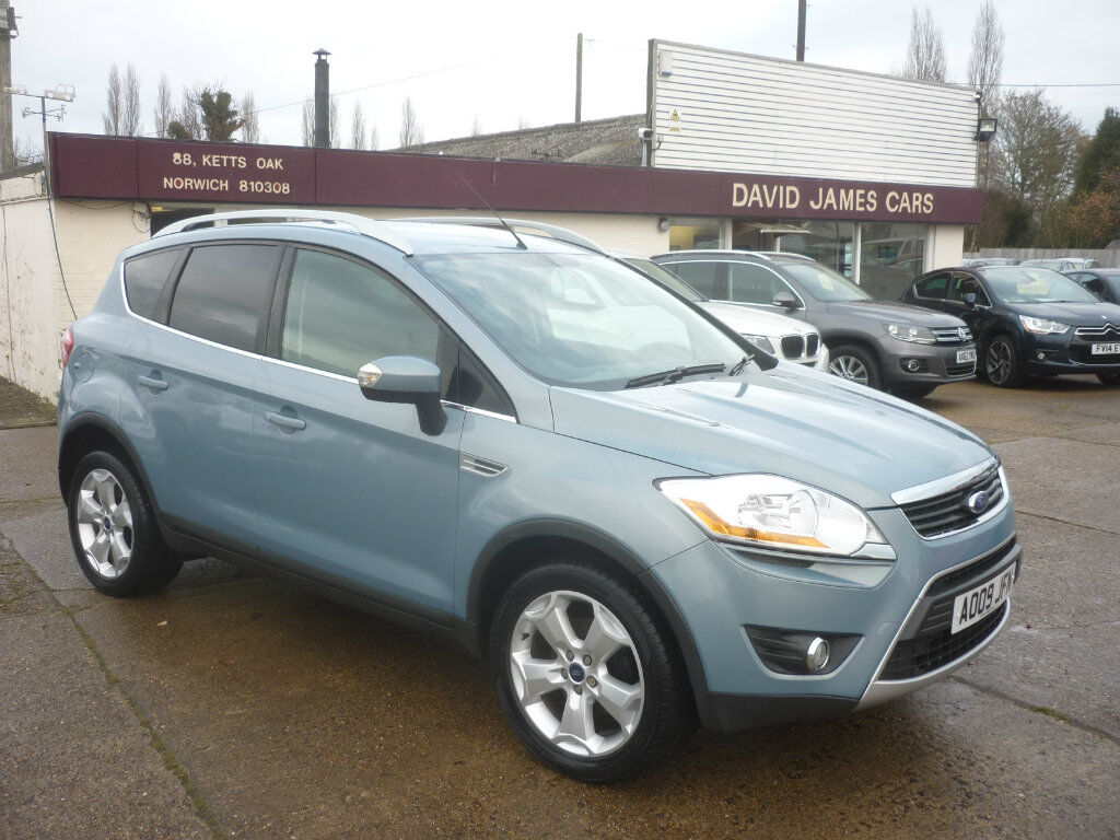 ford kuga 2 0 tdci zetec 4x4 5dr blue 2009 in. Black Bedroom Furniture Sets. Home Design Ideas