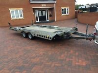 Ifor Williams ct177g car transporter recovery winch