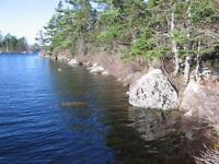 waterfront building lot