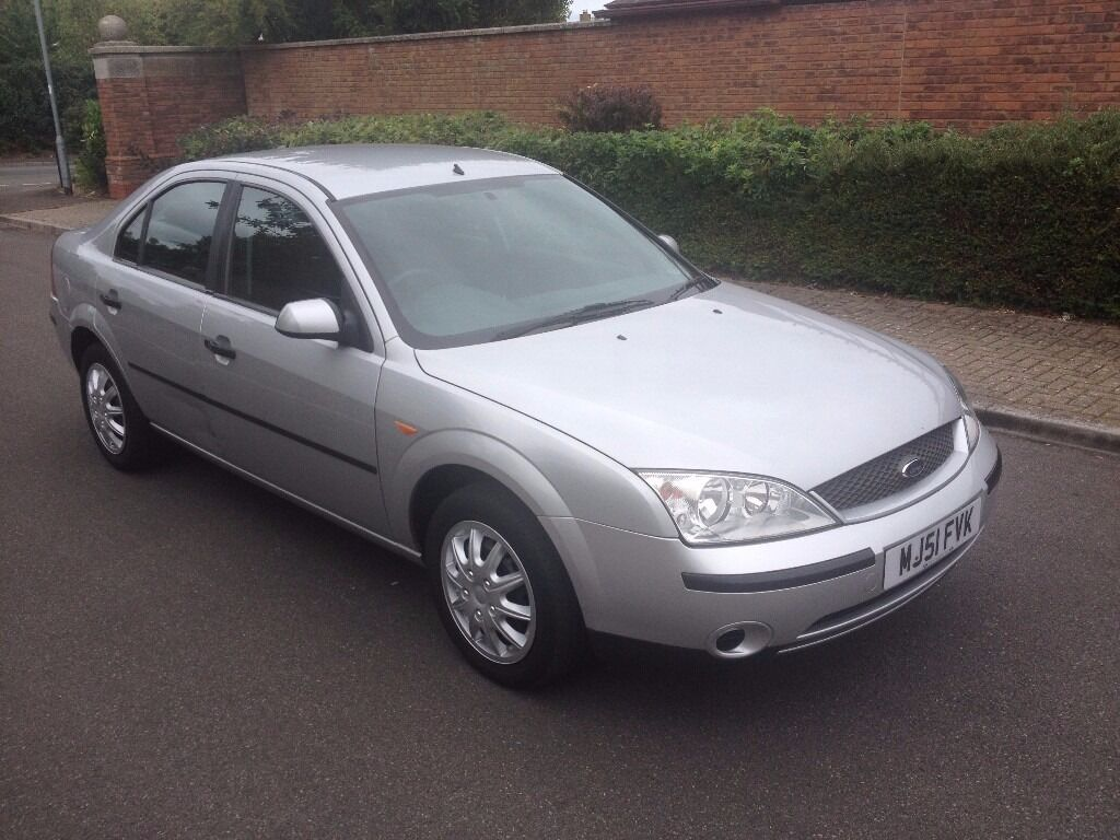 2001 51 ford mondeo 1 8 lx petrol manual metallic silver. Black Bedroom Furniture Sets. Home Design Ideas