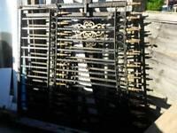 Large Steel gates