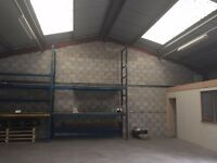 1600SQ FT INDUSTRIAL WORKSHIP UNIT GARAGE STORAGE IN ATHERTON MANCHESTER NO RATES