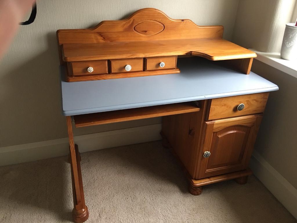 the best attitude 495c5 7da61 Solid pine computer desk | in Waltham, Lincolnshire | Gumtree
