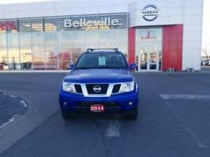 2014 Nissan Frontier PRO-4X 4wd 1 OWNER LOCAL TRADE
