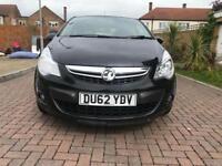 2012 Vauxhall Corsa 1.2i SXi 5dr Black Part Ex welcome