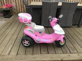 Pink Scooter - Electric ride on
