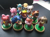 10 animal crossing new leaf amibo figures; £60 for all [NEGOTIABLE]