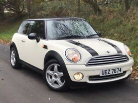 Mint late 2008 Mini Cooper 1.6 only 69K & full MOT trade in considered, credit cards accepted