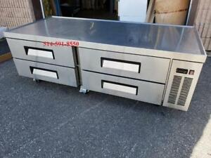 Chef's Base , Support / Base d'equipement refrigere, Refrigerated Equipment Stand
