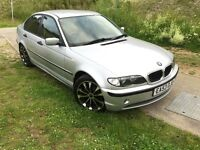 BMW 3 SERIES E46 320d SE 2.0L disel MANUAL 4DR SALOON MOT,JUNE,17, SUPERB DRIVE