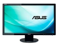 ASUS VE247H 24 inch Full HD LED 1080p Widescreen Monitor (Support with HDMI 2 ms Response Time)