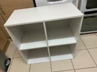 Lovely 4 cube bookshelf unit,