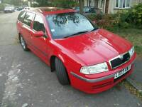 Skoda octavia vrs 1.8t Estate in red