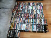 Massive job lot 500 DVDs personal collection bargain