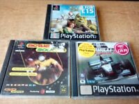 15 PLAYSTATION ONE GAMES SOME GREAT CLASSICS
