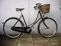Pashley Ladies Town/ Dutchie/ Commuter bike, Black, Great Condition, JUST SERVICED/CHEAP PRICE!!!!!!