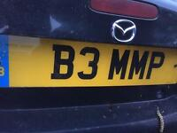 B3 MMP number plate for sale BUMP Member Parliament Bum etc