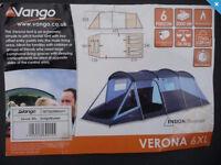 Vango Verona 6XL Tent - Sleeps 6
