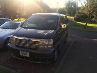 Clean and Cheap Nissan elgrand 3.2 litre diesel , automatic for sale or Part EXchange .