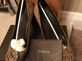 Gucci GG interlocking Heels