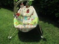 Baby Bouncer fisher-price woodsy friends comfy time