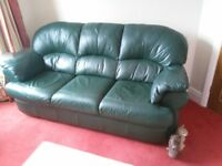 FREE Leather 3 piece suite.