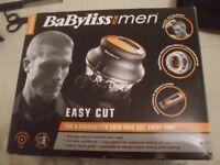 BABYLISS FOR MEN EASY CUT.