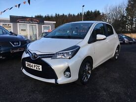 2014 Toyota Yaris, Manufactures warranty, 2 years FREE MOT and servicing Only £45 per week