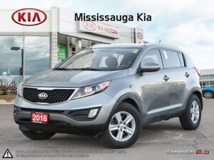 2016 Kia Sportage LX AWD|HTD SEATS|ALLOYS|BLUETOOTH|KEYLESS