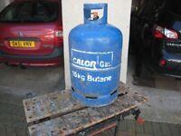 Empty 15 kg. Calor Gas bottle.