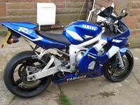 Yamaha R6 2002 for sale