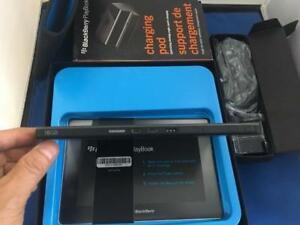 "BlackBerry Playbook Tablet 7""inch LCD Wireless 16GB HD with extra charging pod"