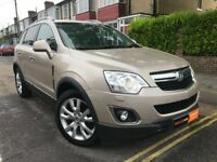 2012 Vauxhall Antara Automatic AWD 4x4 SatNav Leather R19 Alloys FSH FINANCE
