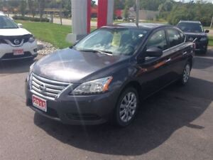 2015 Nissan Sentra S FRONT WHEEL DRIVE