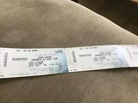 4tickets for John legend darkness and light tour Scottish hydro 8th Sep Great seats