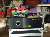 Laser Show System 2W RGB + Pangolin Quickshow