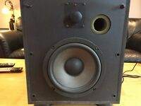 "B&W ""Solid series"" Active Power Base SubWoofer"