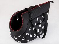 Carrier transport tote bag for a small dog