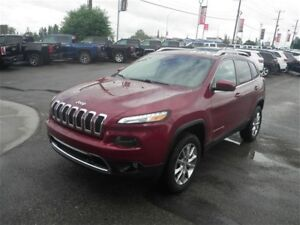 2014 Jeep Cherokee Limited | Leather | Remote Start | Moonroof